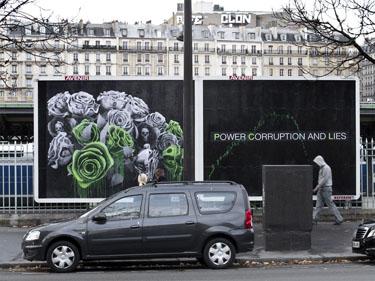 Power Corruption and Lies ludo street paris